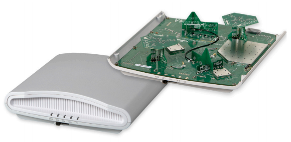 Patented smart antenna arrays in every access point provide longer range and more reliable Wi-Fi connections, requiring fewer APs than competitive alternatives.